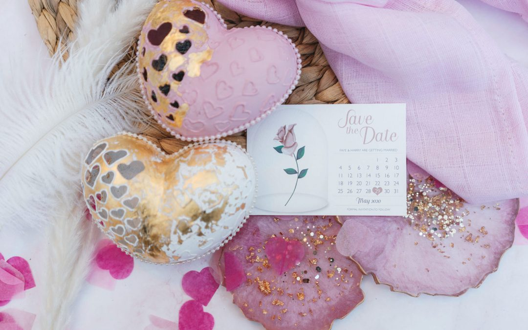 Top tips to create a Valentine's Day flat lay at home